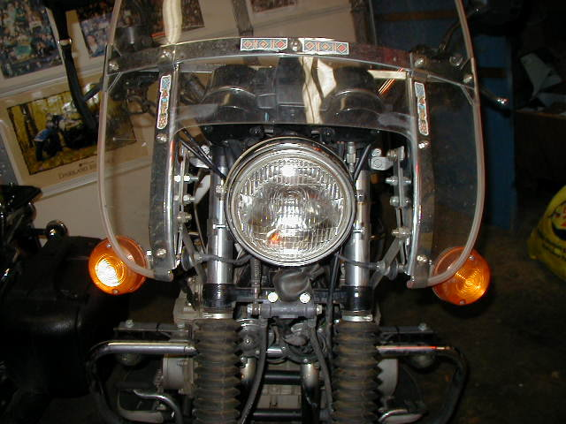 I Mounted A 196084 Harley Windshield To My Bike: Pursuit Kz1000 Wiring Diagram Lights At Shintaries.co